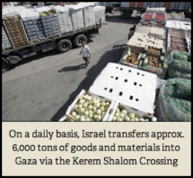 How to deliver goods to the Gaza Strip